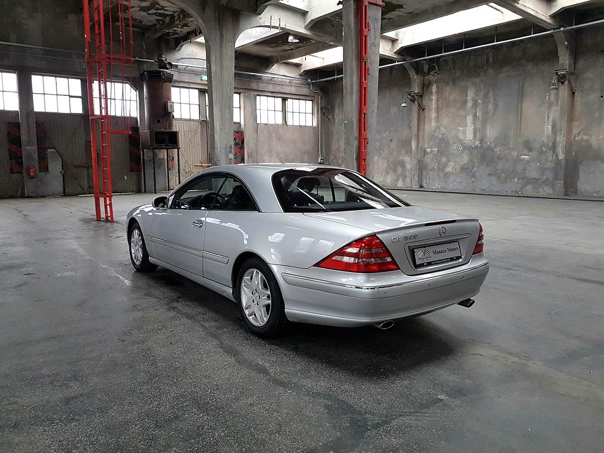 Monaco Motors München - Mercedes-Benz CL 500 - silber