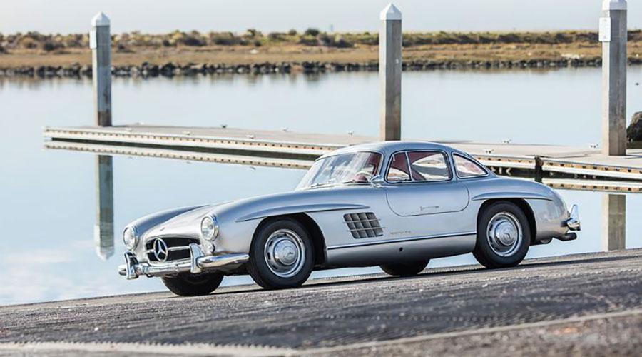 Monaco Motors München - Mercedes - 300 - SL - W - silber