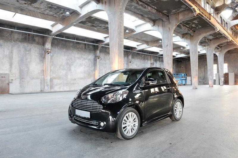 Monaco Motors München - Aston Martin - Cygnet - schwarz