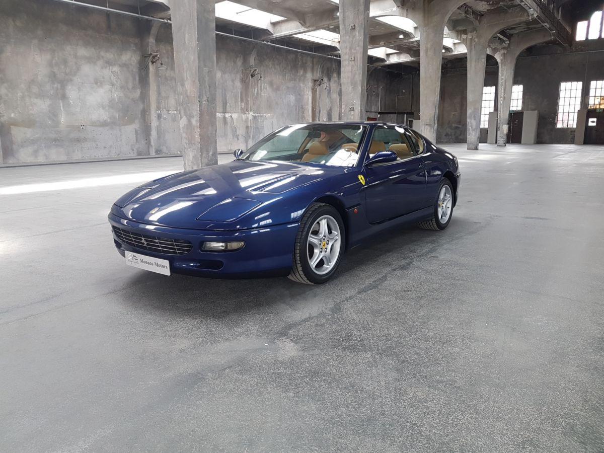 Monaco Motors München - Ferrari - blau