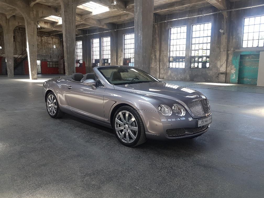 Monaco Motors München - Bentley - silber
