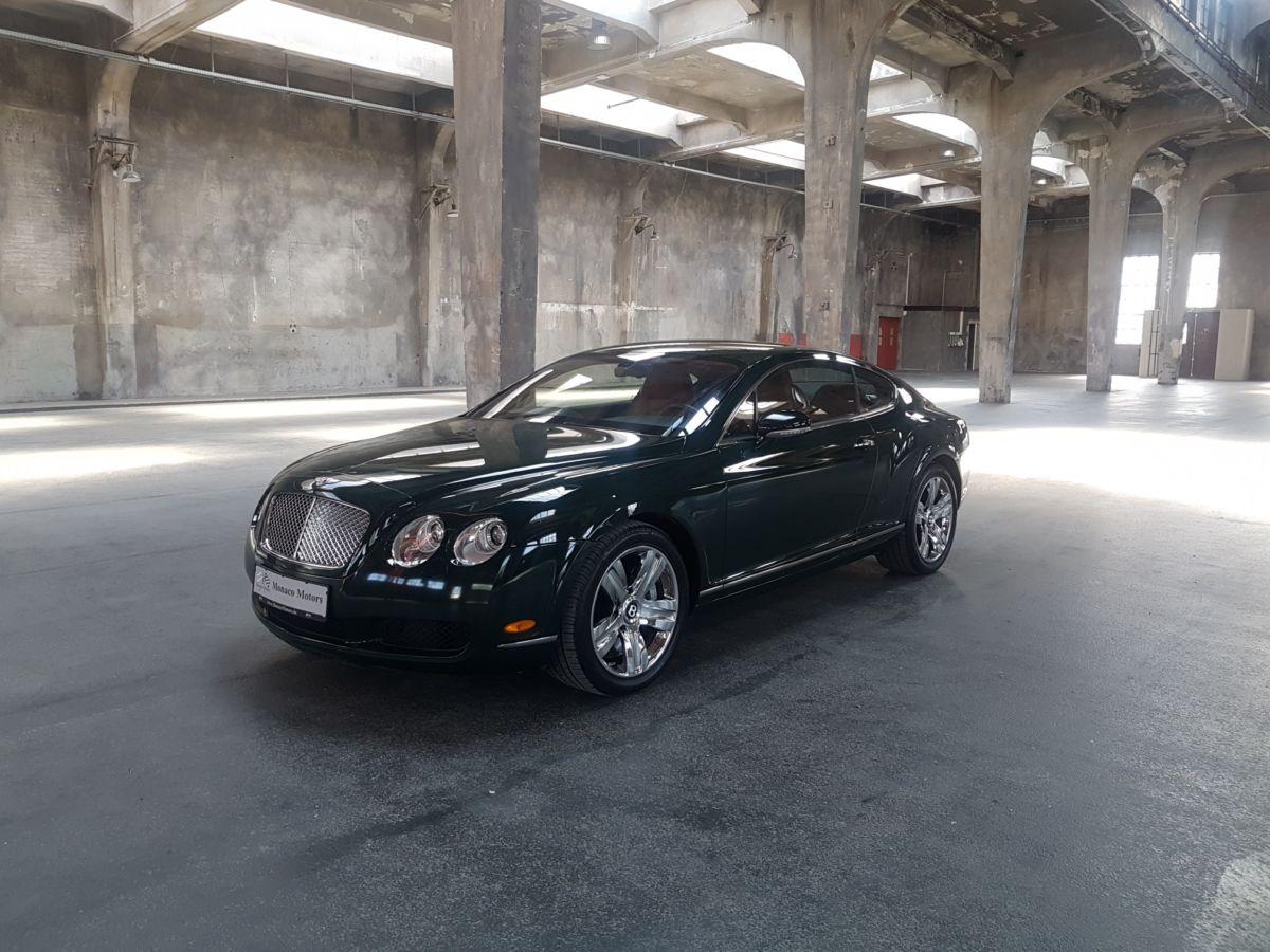 Monaco Motors München - Bentley - grün