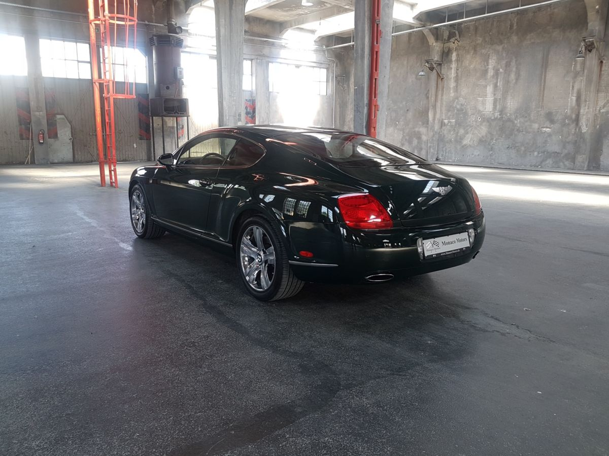 Monaco Motors München - Bentley - grün - Schlafwagenfabrik