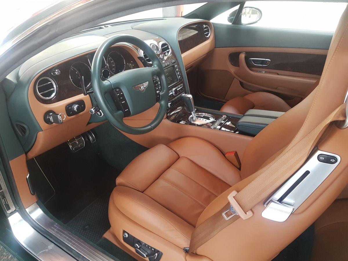 Monaco Motors München - Bentley - Innenraum - braun
