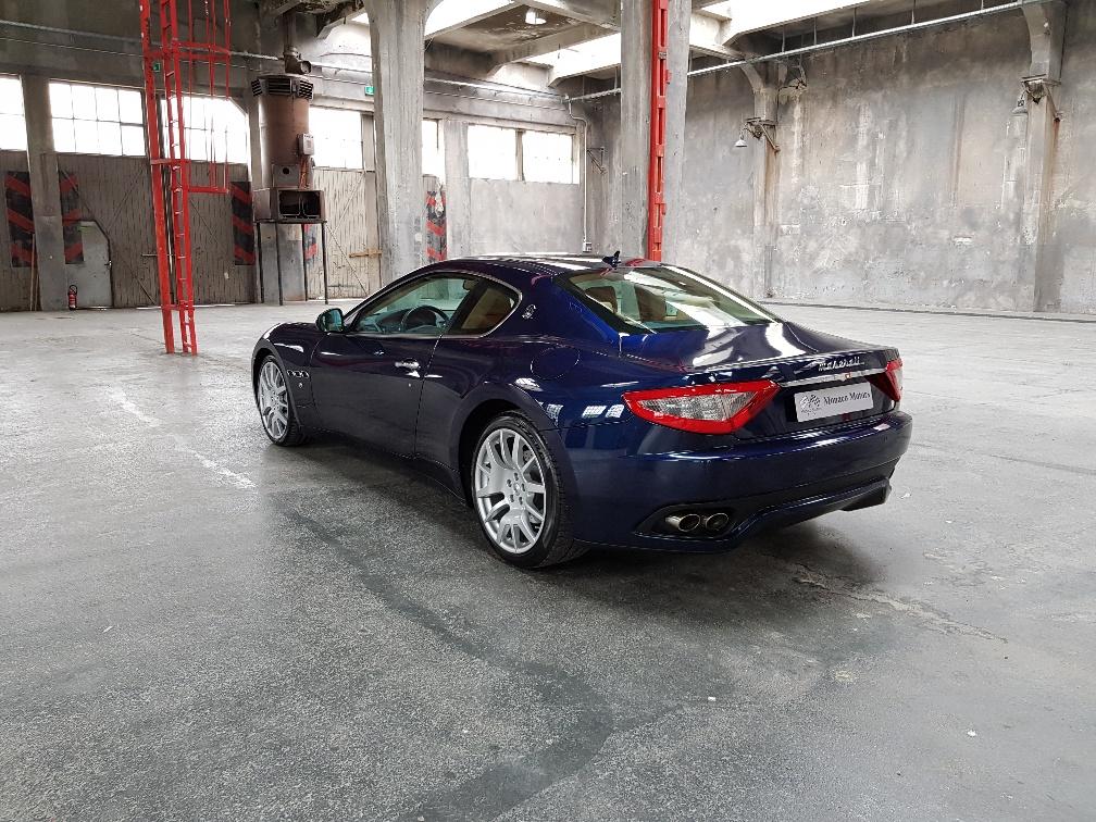 Monaco Motors München - Maserati Gran Turismo - königsblau - heckansicht