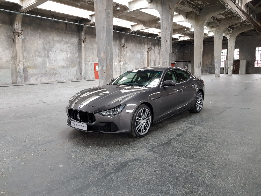 Monaco Motors München - Maserati Ghibli - grau