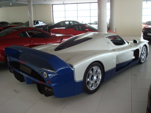 Monaco Motors München - Maserati - MC12 - weiß - blau