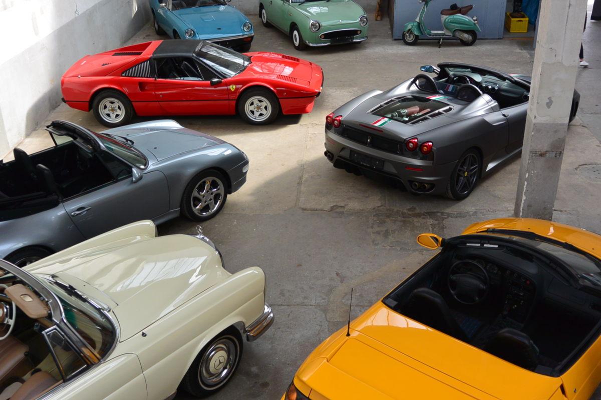Monaco Motors München - Sammlung - Bestand - Halle
