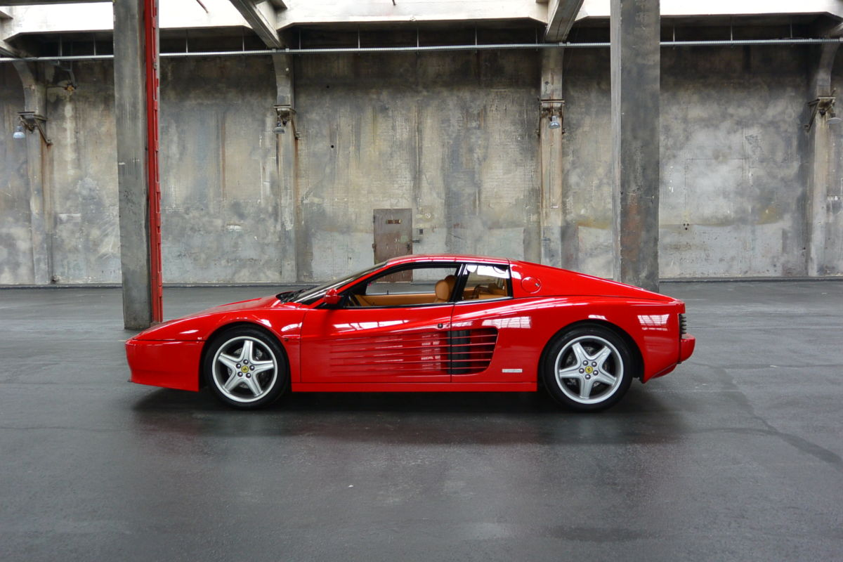 Monaco Motors München - Ferrari - Testarossa - rot