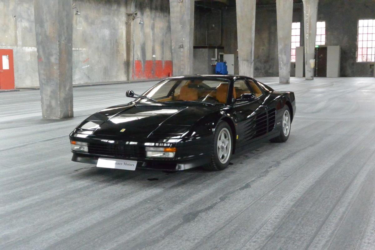 Monaco Motors München - Ferrari - Testarossa - schwarz - Schlafwagenfabrik