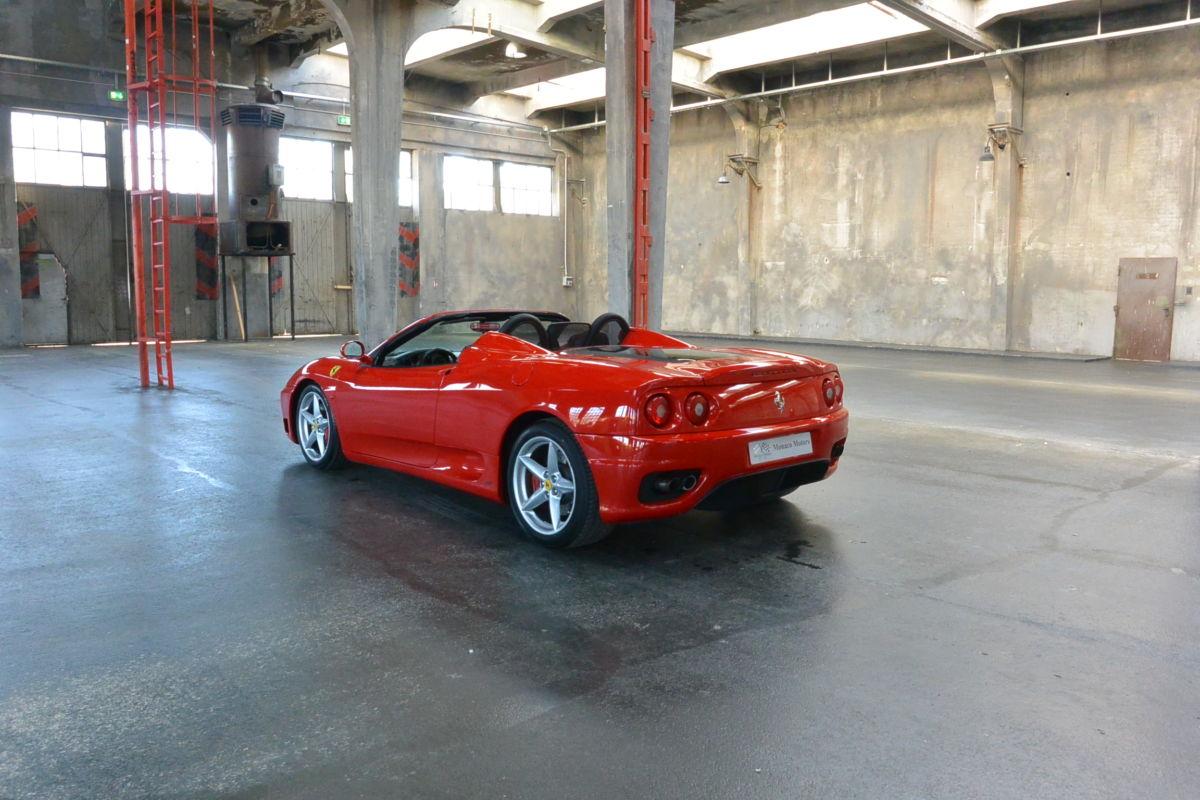 Monaco Motors München - Ferrari 360 - Modena F1 - Spider
