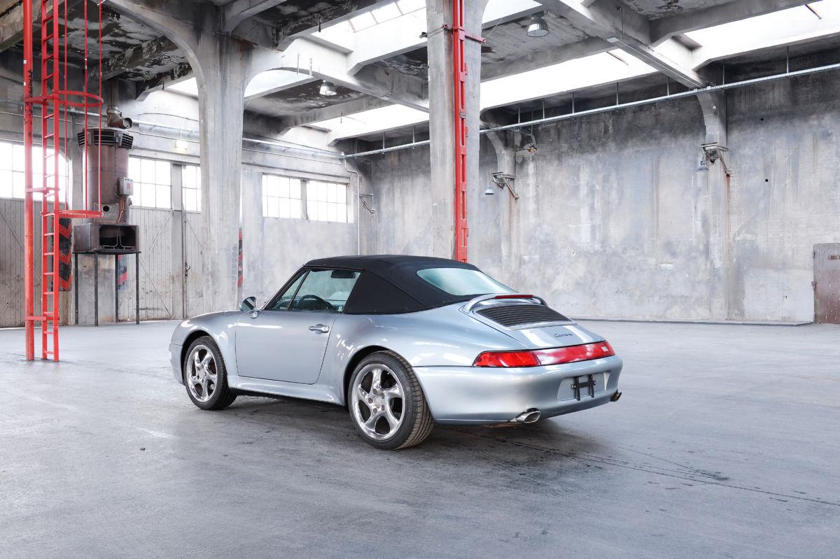 Monaco Motors München - Porsche - Cabriolet - silber