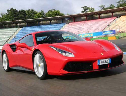 Ferrari 488 auf der Nordschleife