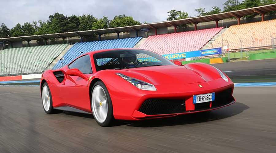 Monaco Motors München - Ferrari - 488 - GTB - rot - Rennstrecke