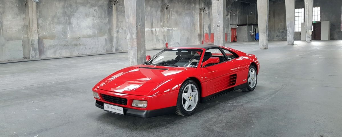 Monaco Motors München - Ferrari - 348 - rot