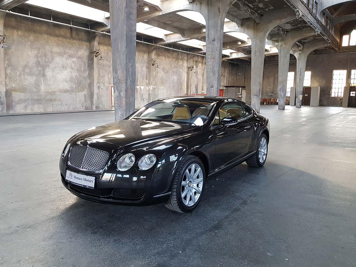 Monaco Motors München - Bentley - Continental GT 460 - schwarz