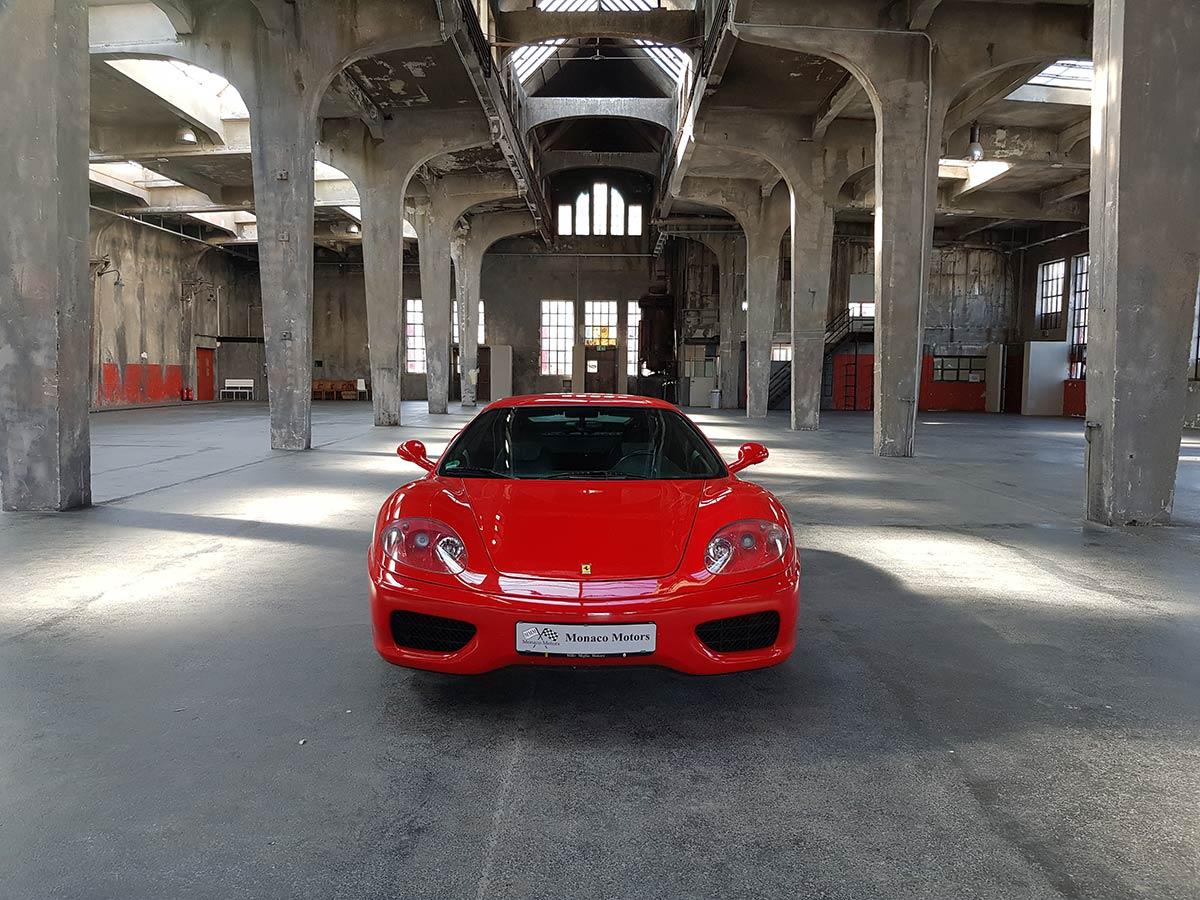 Monaco Motors München - Ferrari - 360 Modena F1 - front rot