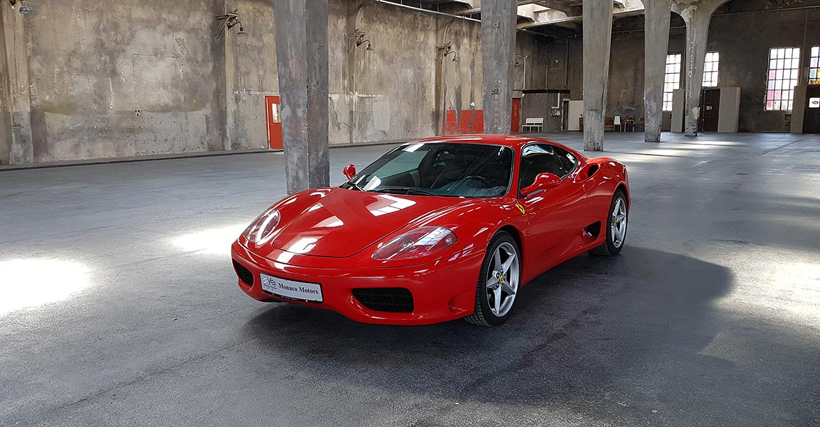Monaco Motors München - Ferrari - 360 Modena F1 - rot
