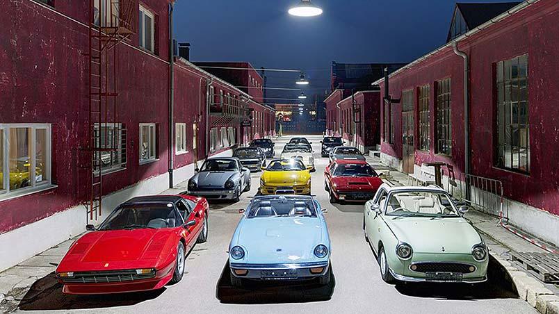 Monaco Motors München - Schlafwagenfabrik - Sammlung - Fahrzeuge