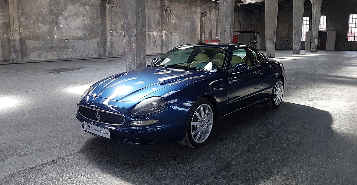 Monaco Motors München - Maserati - 3200 GT - königsblau