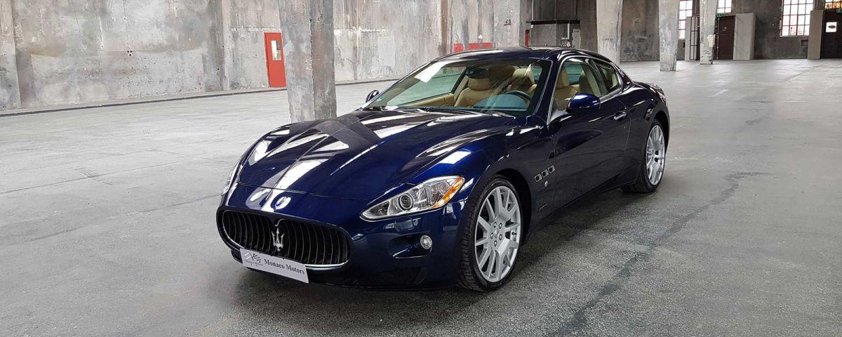 Monaco Motors München - Maserati - Gran Turismo - dunkelblau