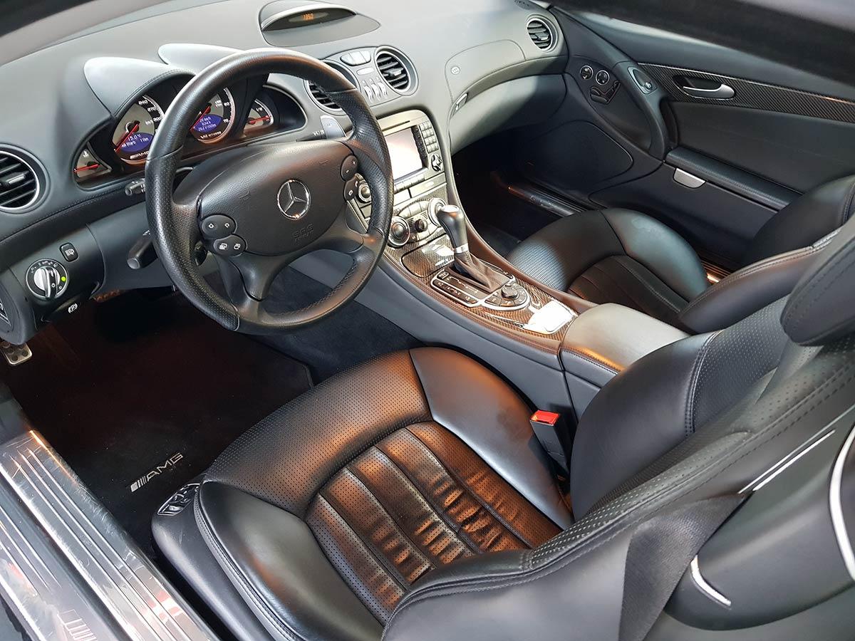 Monaco Motors München - Mercedes-Benz - SL - 65 Innenraum - AMG