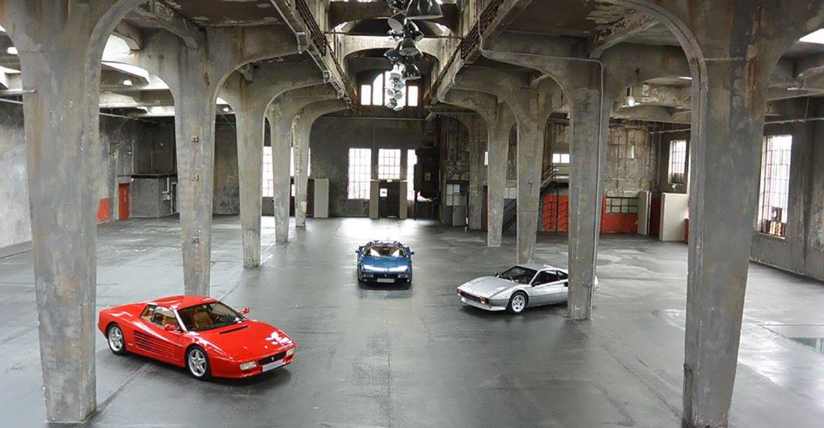 Monaco Motors München - Schlafwagenfabrik - Halle - Ferrari - Standort