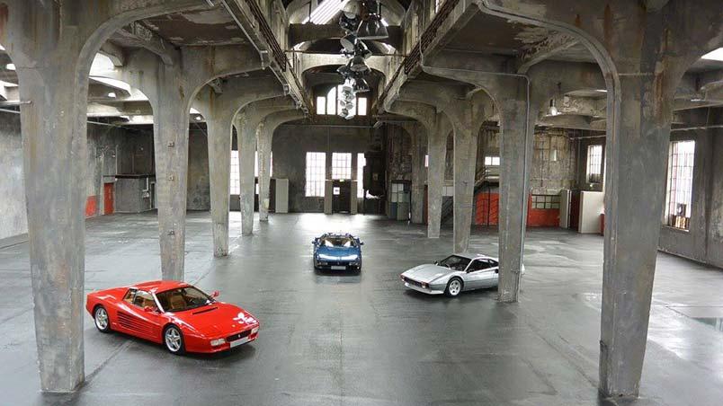 Monaco Motors München - Schlafwagenfabrik - Halle - Ferrari